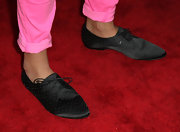 Whitney Mixter arrived on the red carpet of the premiere of 'The Real L World' in black studded oxfords.