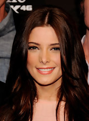 Ashley Greene gave her flawless skin a boost with shimmering lip gloss at the premiere of 'Skateland.'