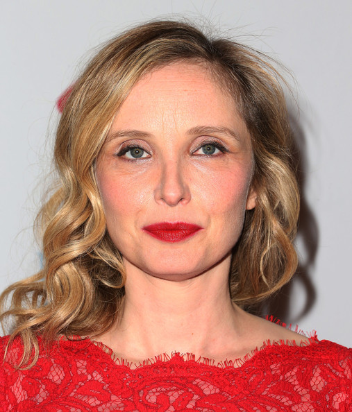 More Pics of Julie Delpy Red Lipstick (1 of 24) - Red Lipstick Lookbook - StyleBistro