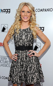Gretchen Rossi wore a cheery shade of cherry red nail polish to the premiere of 'Darling Companion.'