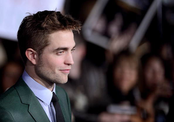 More Pics of Robert Pattinson Messy Cut (3 of 44) - Hair Lookbook - StyleBistro