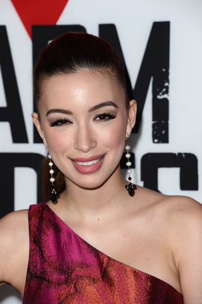 More Pics of Christian Serratos Ponytail (1 of 13) - Christian Serratos Lookbook - StyleBistro