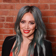 Hilary Duff's Blue-Hued Waves