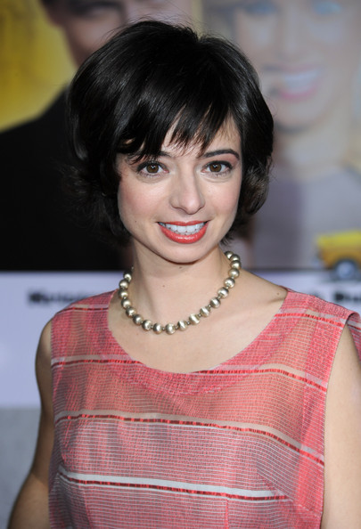 More Pics of Kate Micucci Short Wavy Cut (1 of 8) - Kate Micucci Lookbook - StyleBistro [when in rome,hair,hairstyle,face,beauty,chin,eyebrow,bangs,lady,lip,black hair,kate micucci,arrivals,california,hollywood,el capitan theatre,touchstone pictures,premiere,premiere]