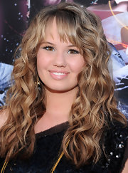Debby added major volume to her look with long tousled curls and wispy bangs at the premeire of 'Step Up 3D'.