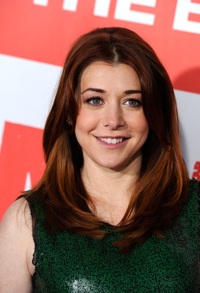 More Pics of Alyson Hannigan Layered Cut (1 of 15) - Alyson Hannigan Lookbook - StyleBistro