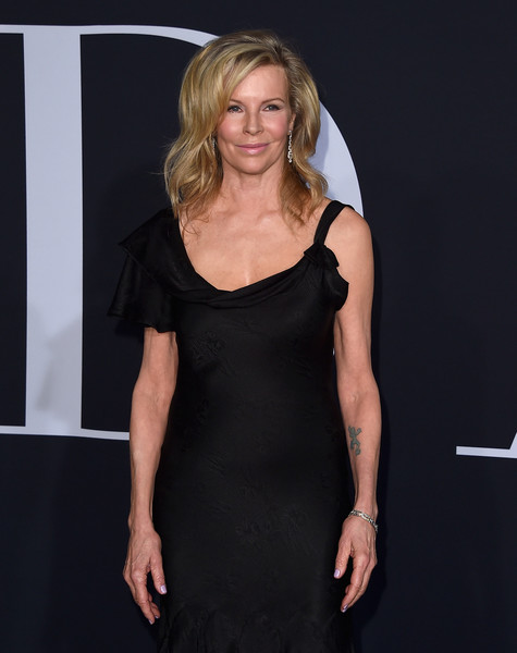 More Pics of Kim Basinger Medium Wavy Cut with Bangs (1 of 13) - Kim Basinger Lookbook - StyleBistro