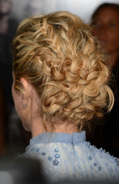 Brittany Snow's Intricate Plaits