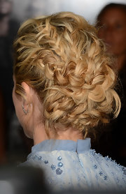 Intricately woven braids gave Brittany Snow's chic updo a hint of modern romance.
