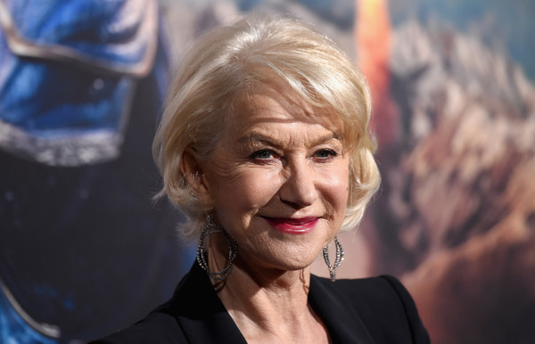 More Pics of Helen Mirren Slacks (5 of 9) - Pants & Shorts Lookbook - StyleBistro [hair,face,head,blond,chin,hairstyle,human,lip,wrinkle,smile,arrivals,helen mirren,the great wall,california,hollywood,universal pictures,tcl chinese theatre imax,premiere,premiere]