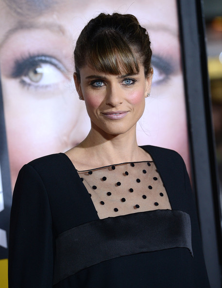 More Pics of Amanda Peet Little Black Dress (5 of 16) - Dresses & Skirts Lookbook - StyleBistro