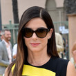 Hairstyles For Women With Fine Hair: Sandra Bullock's Perfectly Sleek Style