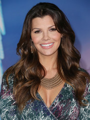 Ali Landry went for boho romance with this lush wavy 'do at the premiere of 'Frozen.'