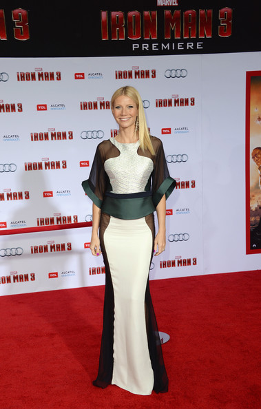 Gwyneth Paltrow Wore Antonio Berardi at the 'Iron Man 3' Hollywood Premiere
