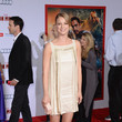 Emily VanCamp Wore Temperley London at the 'Iron Man 3' Hollywood Premiere