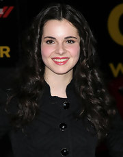 Vanessa Marano wore a shimmery berry-colored lipstick at the premiere of 'John Carter.'