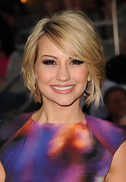 Chelsea Kane added some length to her lashes with defined falsies.
