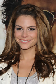 Maria Menounos wore cool sweeps of violet liner at the premiere of 'The Hangover Part II.'