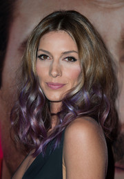 Dawn Olivieri look cool with her ombre curls at the premiere of 'Her.'
