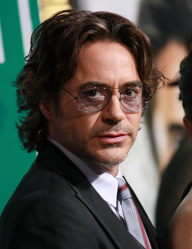 rock n roll hairstyles : More Pics of Robert Downey Jr. Short Wavy Cut (16 of 85) - Short Wavy ...