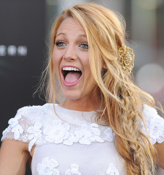 8cdb37a4247 More Pics of Blake Lively Long Braided Hairstyle (28 of 52) - Blake Lively  Lookbook - StyleBistro