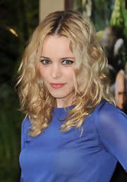 Rachel McAdams wore a sheer warm pink lipstick at the premiere of 'Journey 2: The Mysterious Island.'
