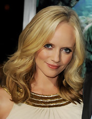 Marley Shelton wore a highly pigmented caramel-colored gloss at the premiere of 'Journey 2: The Mysterious Island.'