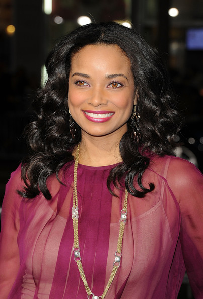 More Pics of Rochelle Aytes Pink Lipstick (1 of 10) - Rochelle Aytes Lookbook - StyleBistro