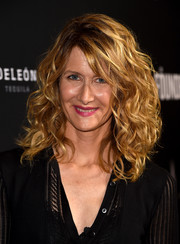 Laura Dern showed off high-volume, richly textured curls at the premiere of 'The Founder.'