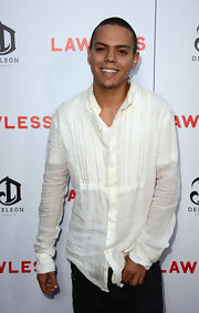 Evan ross style fashion looks stylebistro for Wiz khalifa button down shirt