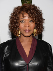 Alfre Woodard looked fab with her short curls at the 'Mandela: Long Walk to Freedom' Hollywood premiere.