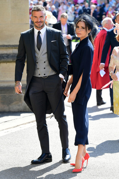 Victoria (in Victoria Beckham) And David Beckham