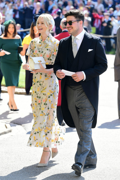 Carey Mulligan (in Erdem) and Marcus Mumford