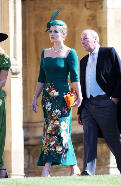 Lady Kitty Spencer In Dolce & Gabbana