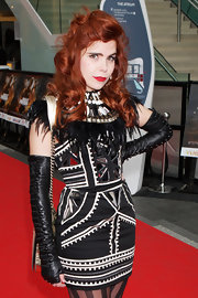 "Paloma Faith showed off her sexy side while hitting the ""Prince of Persia"" London Premiere. Her long flowing curls radiated on the red carpet."
