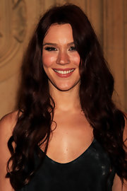 Joss Stone's lovely auburn locks were long and curly at the 2011 Prince's Trust Rock Gala.