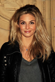 Tasmin Egerton wore her shiny hair tousled and slightly wavy at the 2011 Prince's Trust Rock Gala.
