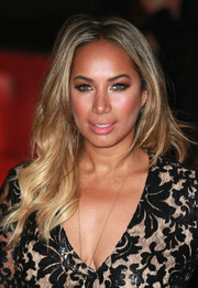 Leona Lewis looked radiant at the British Asian Trust reception with her long blonde waves.