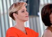 Charlene Wittstock sported a wedge cut at the Princess Charlene of Monaco Foundation USA launch.