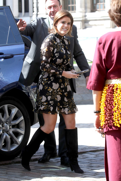 Princess Eugenie Knee High Boots