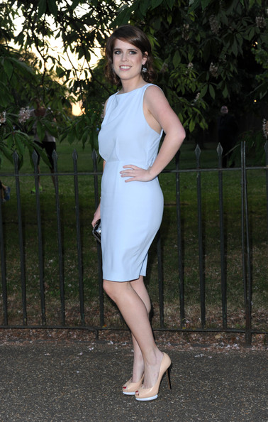 Princess Eugenie Cocktail Dress [clothing,white,dress,shoulder,lady,beauty,footwear,fashion,cocktail dress,lip,eugenie,arrivals,london,england,the serpentine gallery,serpentine gallery summer party,serpentine galley summer party]