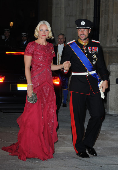 Princess Mette-Marit Beaded Dress [clothing,fashion,formal wear,dress,costume,fun,event,gown,cosplay,haute couture,guillaume of luxembourg stephanie de lannoy,haakon,mette-marit,belgian countess,prince,dinner,norway,luxembourg,wedding,gala dinner]