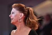 Susan Sarandon attended the Venice Film Festival premiere of 'The Private Life of a Modern Woman' sporting a classic ponytail.
