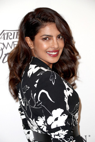 Priyanka Chopra Long Curls