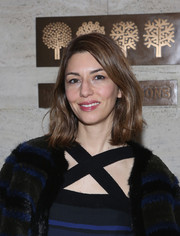 Sofia Coppola styled her shoulder-length hair with just a hint of wave for Project Perpetual's inaugural auction.