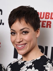 Cush Jumbo kept it breezy with this pixie at the opening night celebration of 'Josephine and I.'