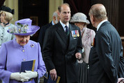 Prince Edward and Prince Philip Photo