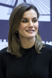 Queen Letizia of Spain opted for a simple straight cut when she attended the International Friendship Award 2018.