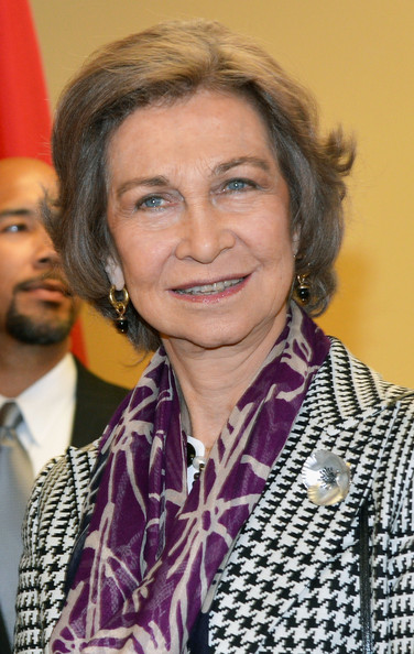 Queen Sofia Bob [sofia,her majesty,queen,forehead,event,spain,new york city,middle school south bronx]