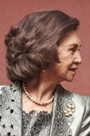 Queen Sofia looked very ladylike with her curly bob at the RTVE Orchestra 50th anniversary concert.